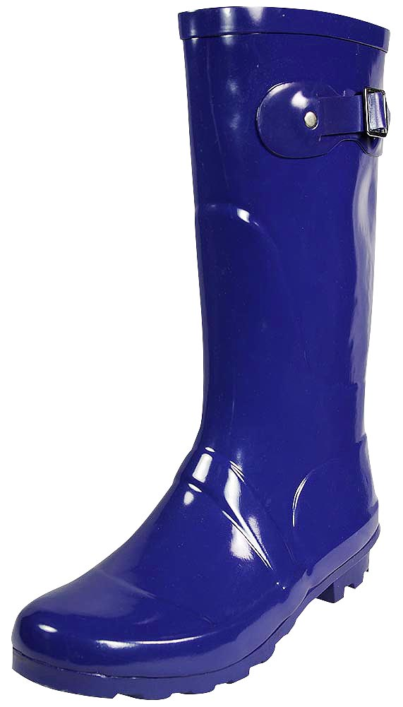 Glossy, waterproof, craft, rubber midcalf